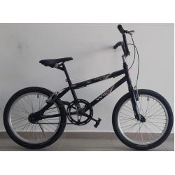 bicicleta aro 20 freestyle preto fosco wrp mania