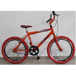 Bcicleta aro 20 mtb ravena laranja bikemania