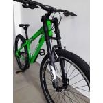 Bicicleta aro 26 tuff29 t15.5 27v freio v-brake shimano verde vikingx mania