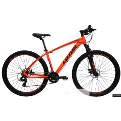 Bicicleta aro 29 T19 21.v Freio Disco laranja Lotus