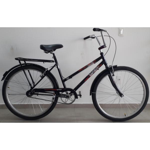 bicicleta aro 26 tropical genova cp/v-brake guidao rx wrp mania