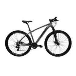 Bicicleta aro 29 T17.5 21.v Freio Disco cinza/preto Lotus