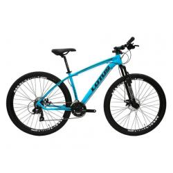 Bicicleta aro 29 Alm 21marchas  T17.5 Freio A Disco Azul Lotus