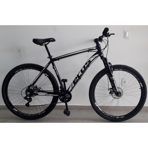 bicicleta aro 29 t21 21v Freio Disco onix preta/fosco/branco ecos mania