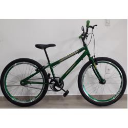bicicleta aro 24 rbx s/marcha verde bikemania