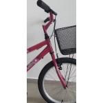 bicicleta aro 20 rbx suzzara rosa/pink mania