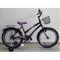 bicicleta aro 20 cindy violeta wrp mania