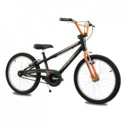 Bicicleta aro 20 apolo preta/laranja nathor
