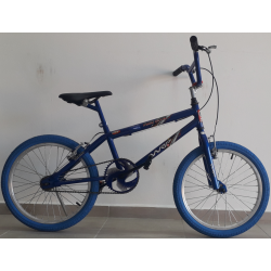 bicicleta aro 20 freestyle azul/hunter wrp mania