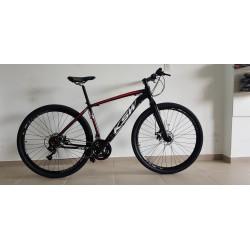 Bicicleta Aro 29 KSW Alumínio 21 Velocidades Híbrida Preta