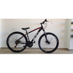 Bicicleta Aro 29 WNY Alumínio 21 Velocidades Preta