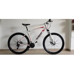 BICICLETA ARO 29 M. ALUM WNY XL T.19 21.V BRANCA BIKE MANIA