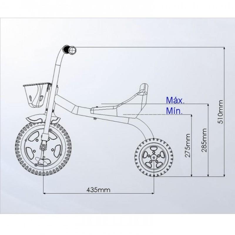f0d2577e8e Triciclo Infantil You 3 Boy Nathor