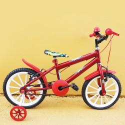 Bicicleta Infantil Masculina Aro 16 Hang Loose Vermelha