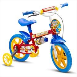 Bicicleta Infantil Masculina Aro 12 Nathor Fireman