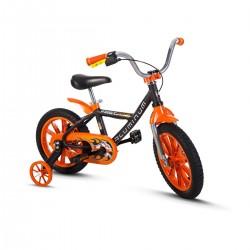 Bicicleta Infantil Masculina Aro 14 Nathor Aluminum