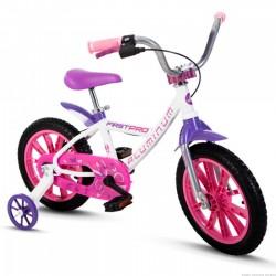 Bicicleta Infantil Feminina Aro 14 Aluminum Nathor