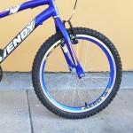 BICICLETA ARO 20 M. AÇO MTB CARBON AZUL BIKE MANIA